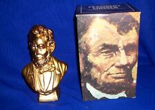 Vintage Avon President Lincoln 1979 Decanter-Full With Box