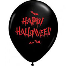 Happy Halloween Haunted Balloons 28cm Pack of 10 Halloween Party Decoration