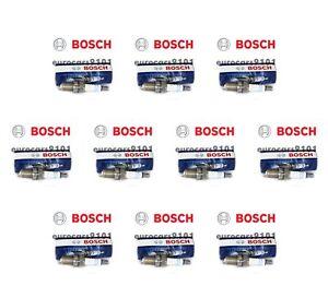 Set of 10 Volkswagen Bosch Spark Plugs 7927 003159670326