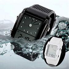 Unisex Womens Mens Watch Digital Led Chronograph Quartz Sport Wrist Watch NEW