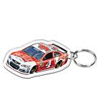 KEVIN HARVICK #4 BUDWEISER RACING NASCAR PREMIUM ACRYLIC MIRROR KEY RING