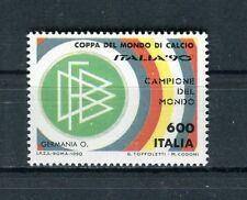 Italia 1990 Germania campione del mondo di calcio MNH
