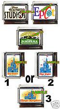 4 Disney World Parks #2 Custom Italian Charms Charm NEW