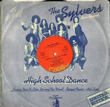 "THE SYLVERS high school dance 12 CLX 102 uk capitol 1976 12"" PS EX/VG"