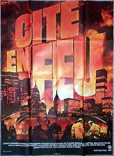 Affiche CITE EN FEU City on Fire ALVIN RAKOFF Barry Newman 120x160cm 1979