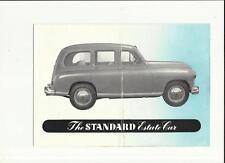 STANDARD ESTATE CAR SALES BROCHURE @1950