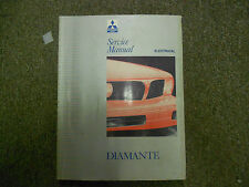 1992 1993 MITSUBISHI Diamante Service Shop Manual VOLUME 2 ELECTRICAL FACTORY 93