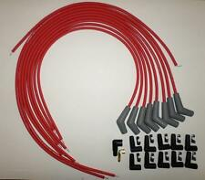 BBC CHEVY 396-427-454-502 RED UNIVERSAL HEI Spark Plug Wires 45/135 degree Boots