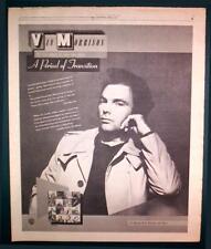 "1977 Van Morrison ""A Period Of Transition"" Album Ad"