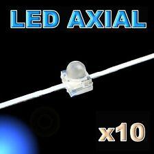 372/10#LED axial 1,8mm bleu 10pcs