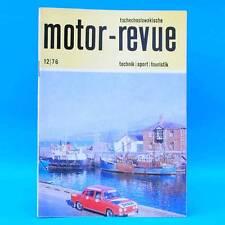DDR Motor-Revue 12-1976  (tschechoslowakische) Skoda Jawa CZ Tatra II