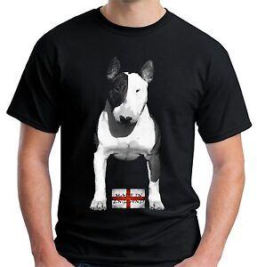 Velocitee Mens T-Shirt English Bull Terrier Made In England EBT Bully V174