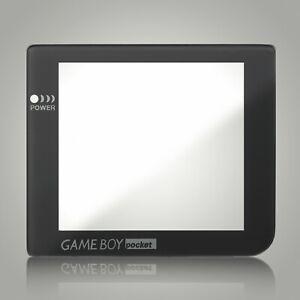 Replacement Game Boy Pocket Screen Glass Lens Grey Black for Nintendo Original