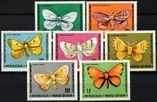 Mongolia 1977 SG#1080-1086 Butterflies & Moths MNH Set #D58850