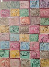 EGYPT 1872-1902 Lot Of 40 STAMPS SPHINX & PYRAMID, 2nd and 4th Issues WMK/s7