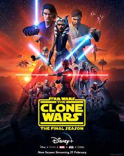 Star Wars The Clone Wars Season 7 Final Season decal Poster Print exclusive Yoda