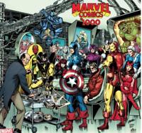 Marvel Comics #1000 1:100 George Perez Hidden Gem Avengers Variant 2019 In Hand