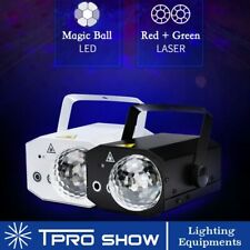 Audio Control LED Stage Light Laser Projector RGB LED Mini Lazer Party Lights