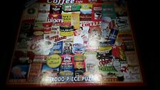 White Mountain Puzzle - Coffee  - 1000 Pieces