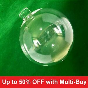 """8cm dia (3⅛"""") Clear Glass Globe Lampshade with neck (ball replacement)"""