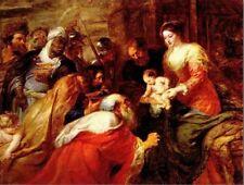 "*Postcard-""Rubens, Adoration of the Magi"" ... (1634)  -Classic-"