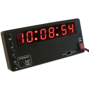 Historic Rally Time Clock 12v Digital LED Race / Rally
