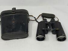 New listing Ww2 German Km Leitz Wetzlar 7x50 Navy Binoculars Kriegsmarine Navy Case WaA Wwii