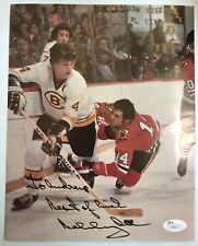 Boston Bruins HHOF #4 Bobby Orr Signed Autograph 8x10 Photo - JSA - FREE S&H!