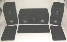 Mirage AVS Home Theater Speakers 2-AVS-200 Sats 1-AVS-100 Center ***EXCELLENT***