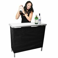 High Top Portable Outdoor Party Bar Pool  Patio Deck Table Tailgate Trade Shows