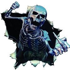 Sticker decal car vinyl motorcycle tuning jdm skull biker moto death skeleton