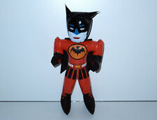 """BATMAN BOOTLEG 18"""" INFLATABLE TOY DOLL 1970s KNOCKOFF HTF"""