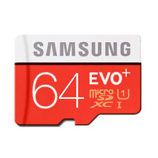 Samsung Memory 64GB EVO Plus Micro SD card with Adapter CO