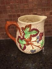 BERRY PITCHER By Staffordshire/Shorter & Son Ltd England Hand Painted