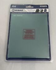 Kobalt Welding Helmet Outer Replacement Lenses 2 4pk 0752078 5 14 X 4 12