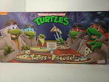NECA Teenage Mutant Ninja Turtles: Turtles in Disguise Action Figure Playset New