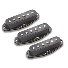 Fishman Fluence Single Coil Pickup Set Black fits Fender Strat PRF-STR-BK3