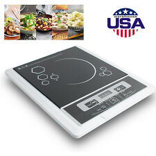 2019 Portable Digital 2000W Electric Induction Cooktop Cooker Countertop Burner