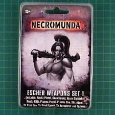 Escher Weapons Set 1 Necromunda Underhive Forge World 11002