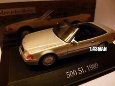 MER9E voiture 1/43 ixo altaya MERCEDES : 500 SL 1989