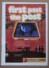 BJORK - Telegram - 1996 music advert - 16 x 12 - Great condition A3 poster