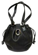 OROTON Leather Handbag Bucket Gather Hobo Shoulder Bag NEAR NEW rrp$495!