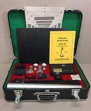 Gordon 35 Portable 35mm Microfilm Camera With Case, Manual & Accessories