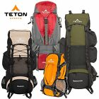 TETON Sports Backpack Camping Equipment Hiking Backpacking Gear with Rain Cover