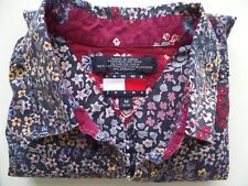 Tommy Hilfiger Tommy Jeans Women's M Button Down Long Sleeve Floral Blouse