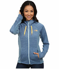 New Womens North Face Ladies Castle Crag Hoody Jacket Blue Medium