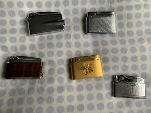 Lot N°3 de 5 Anciens briquets divers , pour collection. Voir Photos.