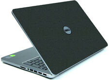 LEATHER Vinyl Lid Skin Cover Decal fits Dell Inspiron 15 7537 Laptop