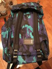 Prada back pack Blue camoflauge