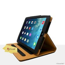 Genuine Real Tan Leather Case Smart Cover for iPad Mini 1/2/3 / Screen Protector